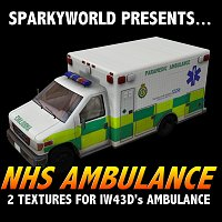 Click to download the 'NHS Ambulance Textures'