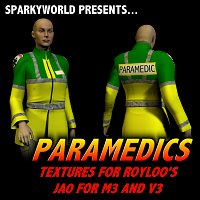Click to download the 'NHS Paramedic Jacket Textures'