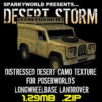 Click to download the 'Desert Storm LandRover'